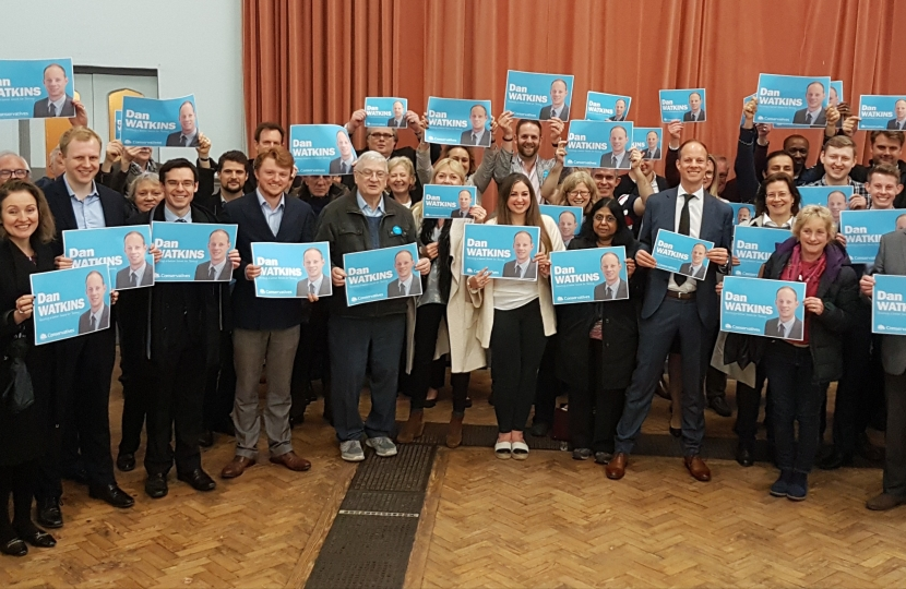 Dan Watkins selected as 2017 general election Conservatives candidate for Tooting