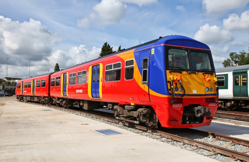 The new class of longer trains, coming to Earlsfield 2014-17