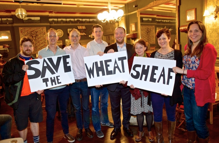 The Wheatsheaf Campaign Group at the recent public meeting