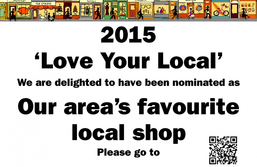 Love Your Local 2015