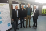 Dan, Roger Gayle MP and the Ryse Hydrogen Team at their Public Consultation in Herne Bay